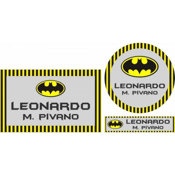 Combo Etiquetas Batman