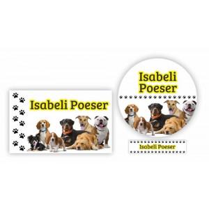 Combo Etiquetas Cachorros