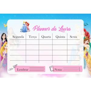 Planner Princesas