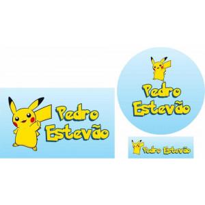 Combo Etiquetas Pokemon
